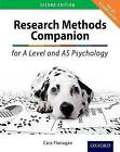 The Research Methods Companion for A Level Psychology by Cara Flanagan (Paperback, 2015)