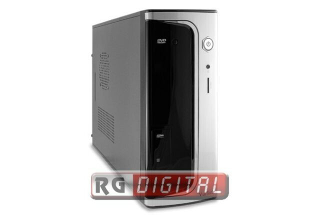 Case Vultech Gs-2492 itx mini case usb 2.0 + alimentatore 500w con lettore card