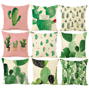 Am-Tropical-Cactus-Plant-Throw-Pillow-Case-Cushion-Cover-Art-Office-Home-Decor