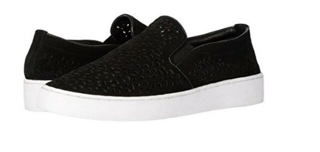 4b0692d3a Vionic Midi Perf Suede Slip on SNEAKERS Women's Size 10 Black for ...