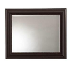 36 X 30 Framed Mirror Room Bronze Wall Frame Decorative Classy Style Bathroom