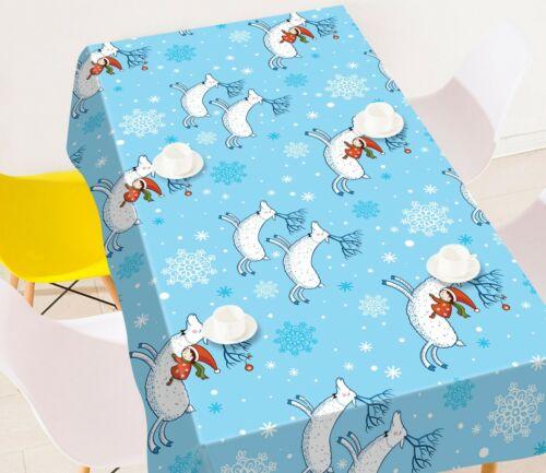 3D Weißer Antilope M154 Christmas Tischdecke Tischdecke Tuch Geburtstagsfeier An