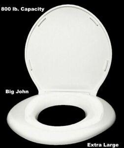 Big John Toilet Seat.Details About 800 Lb Capacity Toilet Seat Big John Extra Large Bariatric Elderly Obese Safety