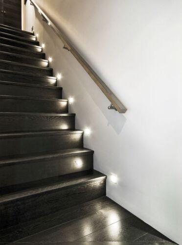 Encastré sabik LED 12v 6500k 0,8w 15lm smd Lampe wandeinbau treppenspot a