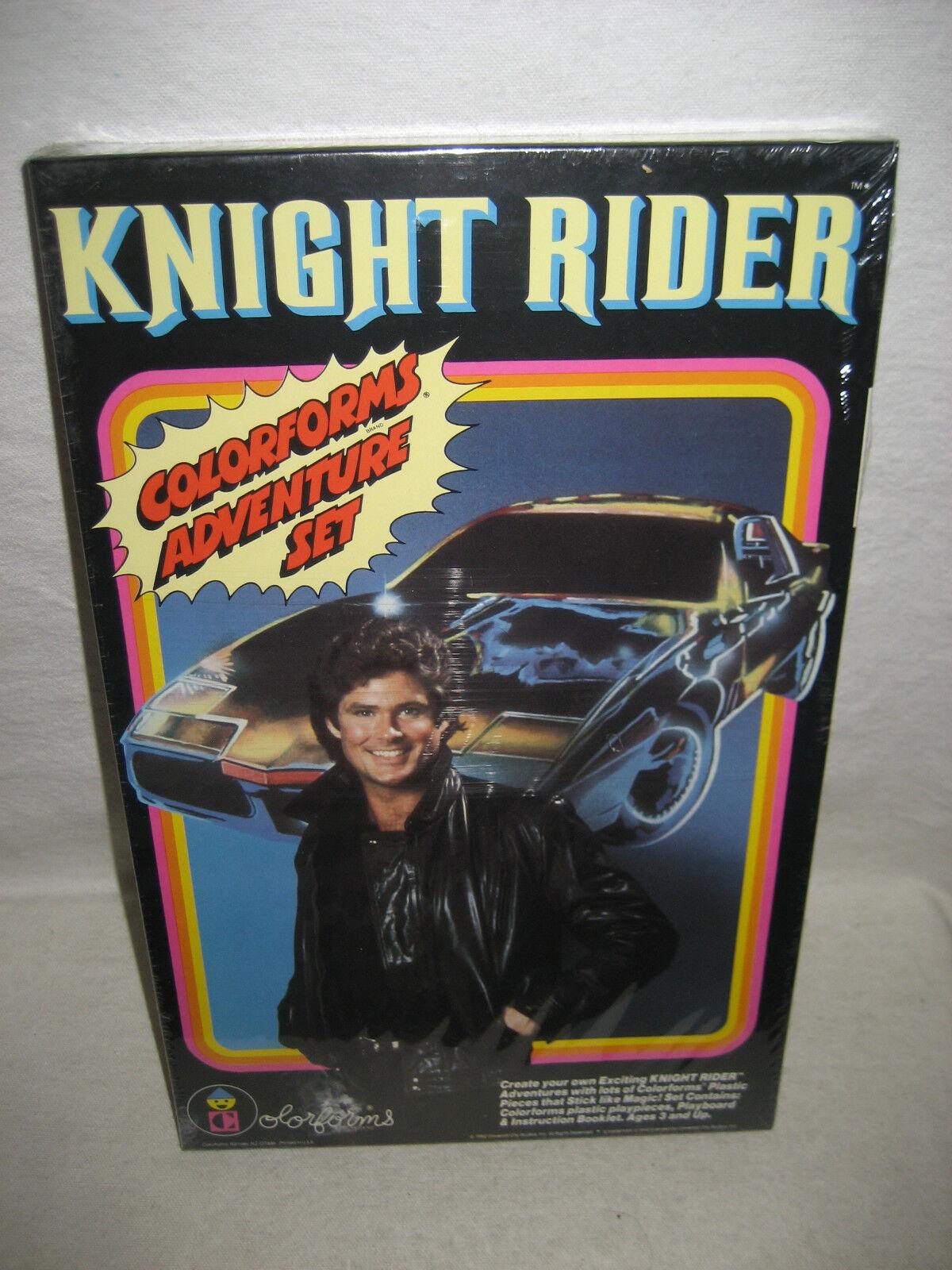 En 1982, el traje de aventuras de Color de los caballeros antiguos no usó el mi David Hasselhoff.