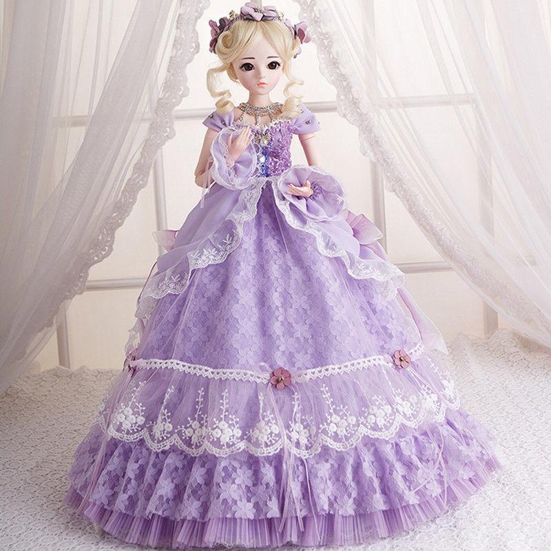 1 3 3 3 BJD muñeca peluca hecha a mano muñecas con ropas zapatos Maquillaje de Cara Niñas Regalo De Navidad  garantizado