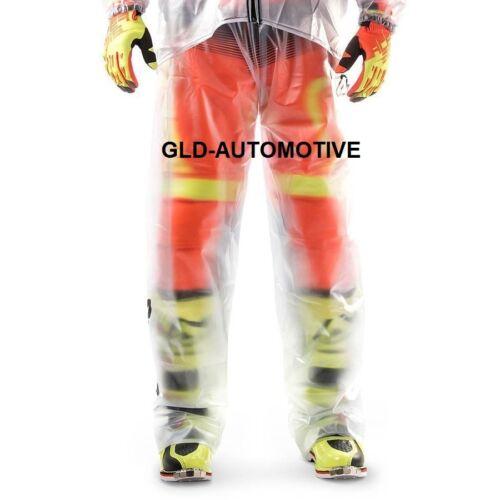 Pantaloni MOTO Impermeabili L//XL Trasparenti Antivento-Pioggia-Invernale ACERBIS