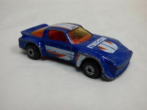 VINTAGE-1982-MATCHBOX-MAZDA-RX7-Blu-Giocattolo-Modello-Diecast-Auto-Da-Corsa-da-collezione