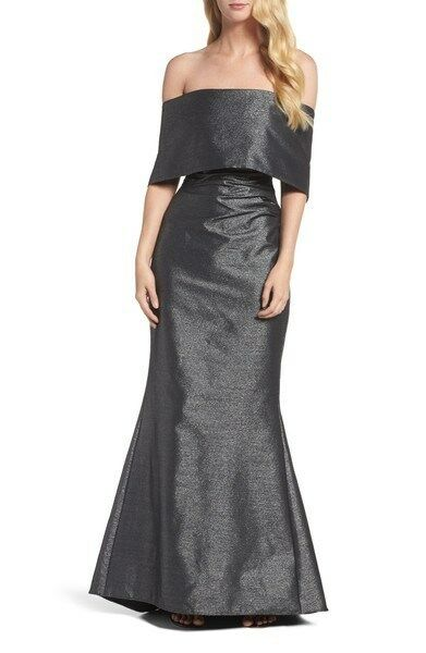 VINCE CAMUTO Off the Shoulder Gown - Perfect for Formal occasions