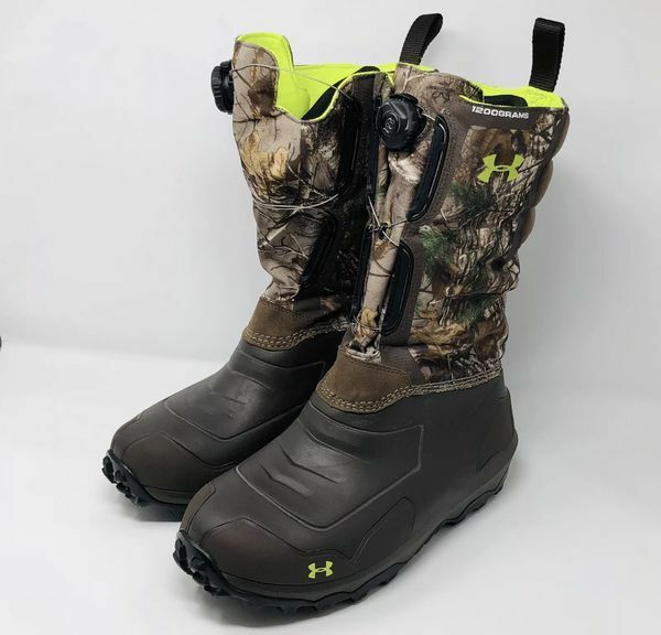 13ca30ec182 Sz 11 Under Armour UA Ridge Reaper 1200g Insulated Hunting BOOTS 1261932-946