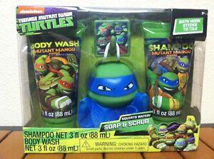 Charming Image Is Loading Nickelodeon Teenage Mutant Ninja Turtles TMNT Bath Gift