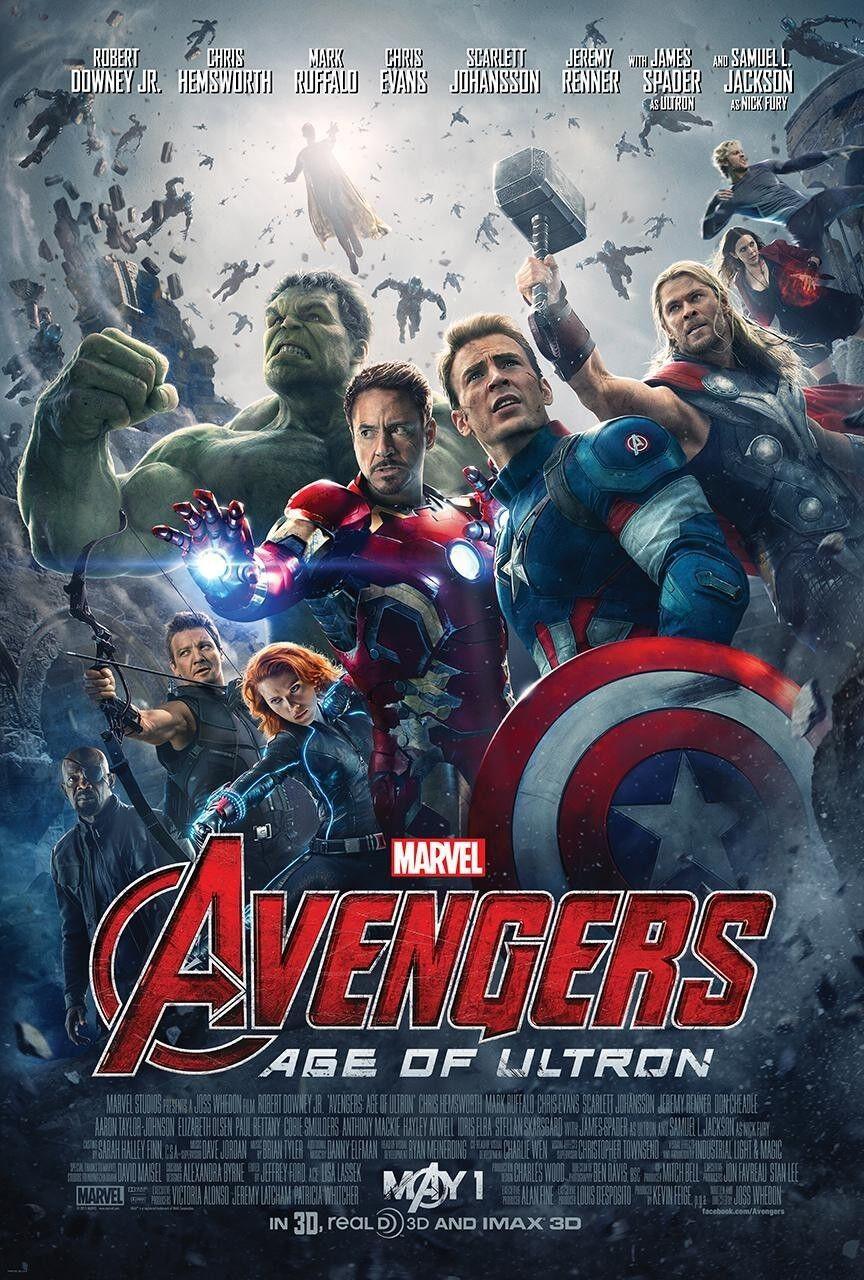 Original Avengers movie poster