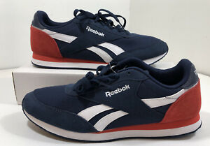 Reebok Royal Classic Jogger 2 DV9640 Mens Blue Suede Low Top Sneakers Shoes