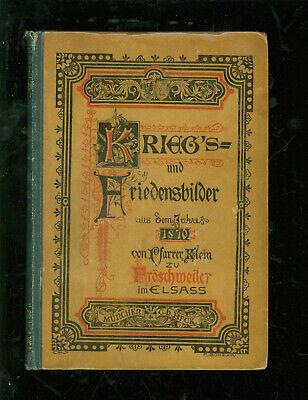 Ehrlich Fröschweiler Chronik Kriegs Und Friedensbilder Aus Dem Jahre 1870 Modern Und Elegant In Mode