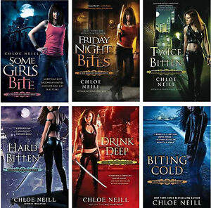 Chicagoland Vampires Collection Set 1 6 Fantasy Fiction Romance