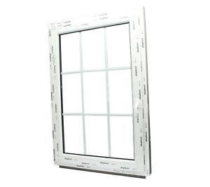 kunststoff fenster mit sprossen 18mm 9 glas felder dreh kipp 2fach glas ebay. Black Bedroom Furniture Sets. Home Design Ideas