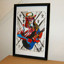 Ed King, Lynyrd Skynyrd, Strawberry Alarm Clock, Guitar, 11x17 PRINT w/COA