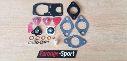 Kit n°1 pochette révision carburateur Solex 32 DIS Renault Fuego Turbo