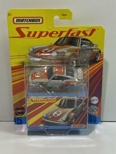 1980 Porsche 911 Turbo #2 Matchbox Superfast GKP51 Nuevo