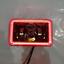 "thumbnail 4 - JTX, 1 Pair Black LED Headlights, 4x6"", White and Red Halo, Toyota Landcruiser"