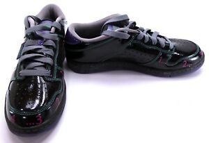 ddb5aa3a684e Reebok Shoes RBK Get Low Patent Black Green Purple Pink Sneakers ...