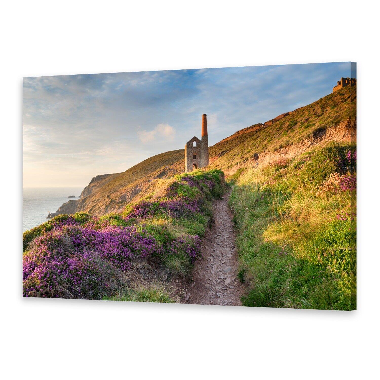 Leinwand-Bilder Wandbild Druck auf Canvas Kunstdruck Cornwall Küste