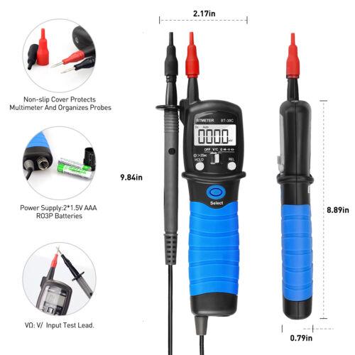 Digitaler tragbarer Multimeter-Stift Typ DC AC Spannungswiderstandsmesser 600V