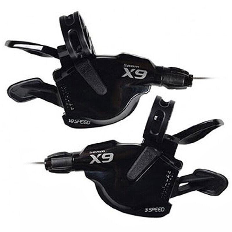 SRAM X9 2X10 10 velocità Trigger Shifters Paiocon logo grigio  2011RRP