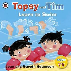 Topsy-and-Tim-Learn-to-Swim-Jean-and-Gareth-Adamson-Very-Good-Book