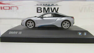 Bmw I8 Ionic Silver 1 43 Ebay