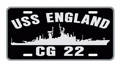 USS LEAHY CG 16 DLG 16 License Plate Frame USN Military U S Navy