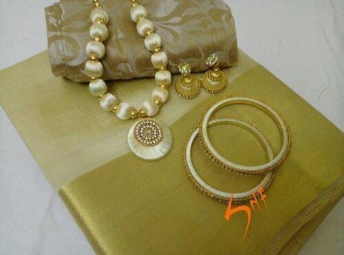Designer Saree Pakistanais Bollywood Coton Soie Sari Gange Indien Ethnique