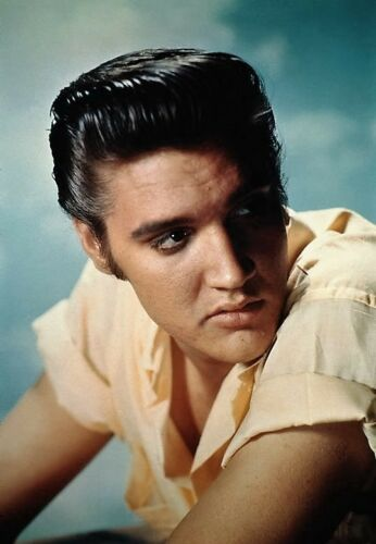 Elvis PRESLEY cross stitch chart anche disponibile come A4 stampa lucida
