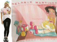Licensed Melanie Martinez Cry Baby doll Fitted Tee For Juniors