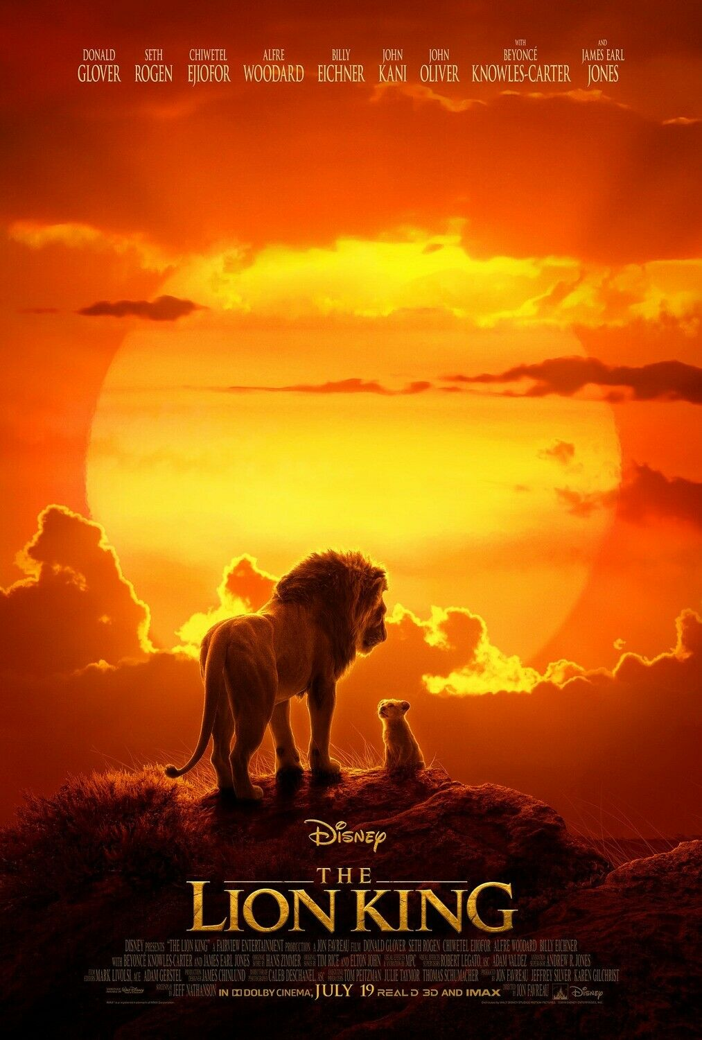 Details About The Lion King Art Poster 48x32 40x27 36x24 Movie Film 2019 Print Silk