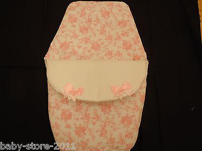 Bello Bellissimo. Stile Spagnolo Cosytoes/sacco Imbottito Romany. Bling Colore Bianco/rosa-