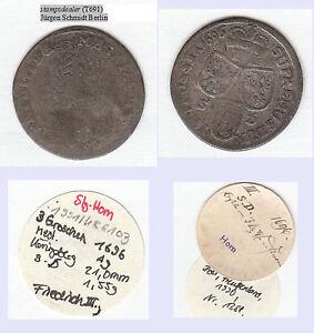 3-Groescher-1696-SD-Koenigsberg-Brandenburg-Preussen-Friedrich-III-T691
