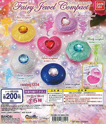 Bandai Fairy Jewel Compact Mirror Gashapon mini Figure