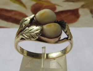 Grosser Herren Grandel Rng 585 Gold Ca. 22 Mm Juwelier-arbeit