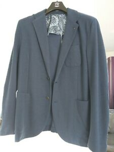 Xl Giacca Mango casual blu Men For uomo UY1UwqS