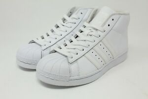 4 Unisex Shoes Adidas Originals Pro Model J Triple White Big Kids Basketball Shoes Nwot Sz