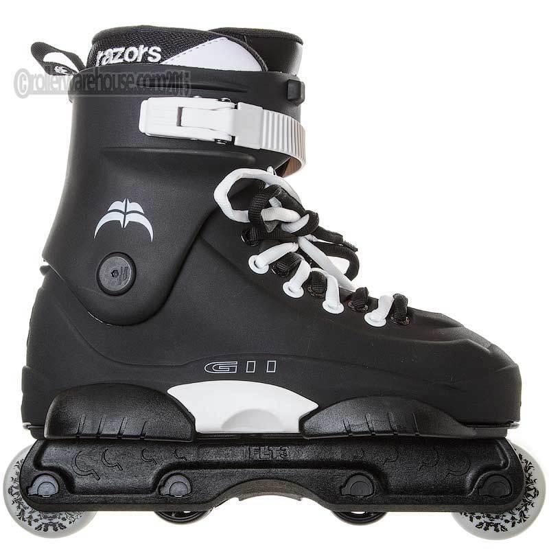 Razors Genesys 11 Aggressive Inline Skates  Herren 8.0 NEW