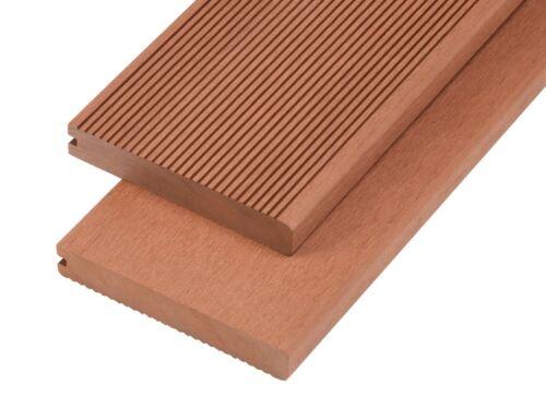 Solid Bullnose Composite Decking Edging Board 4M Length Patio Garden Deck