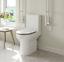 thumbnail 2 - Comfort-Height-Round-Toilet-SLIM-HEAVY-Toilet-Seat