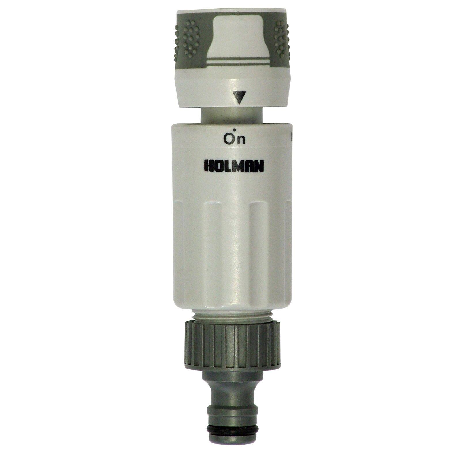 Holman TWIST FLOW HOSE FITTING CONNECTOR 12mm,3/4 Inch BSP Male Thread*AUS Brand