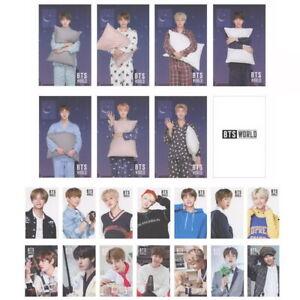 KPOP-Bangtan-Boys-Album-WORLD-OST-GAME-Card-DOUBLE-SIDED-Photo-Card