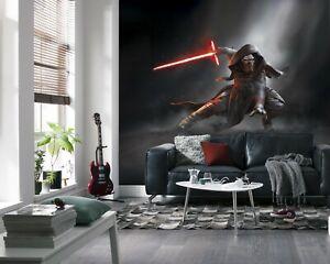 Wall Mural Photo Wallpaper 144x100inch Star Wars Kylo Ren Bedroom Feature Decor Ebay