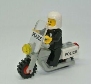 LEGO-Ville-classique-Moto-police-motard-policier-set-6684-6384