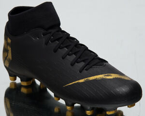 sneakers for cheap ee905 e6ac7 Details about Nike MercurialX Superfly VI Academy FG/MG Men's Black  Football Shoes AH7362-077