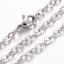 Feine-Edelstahl-Kette-Halskette-Edelstahlkette-Ankerkette-45-cm-2-mm-stark 縮圖 5